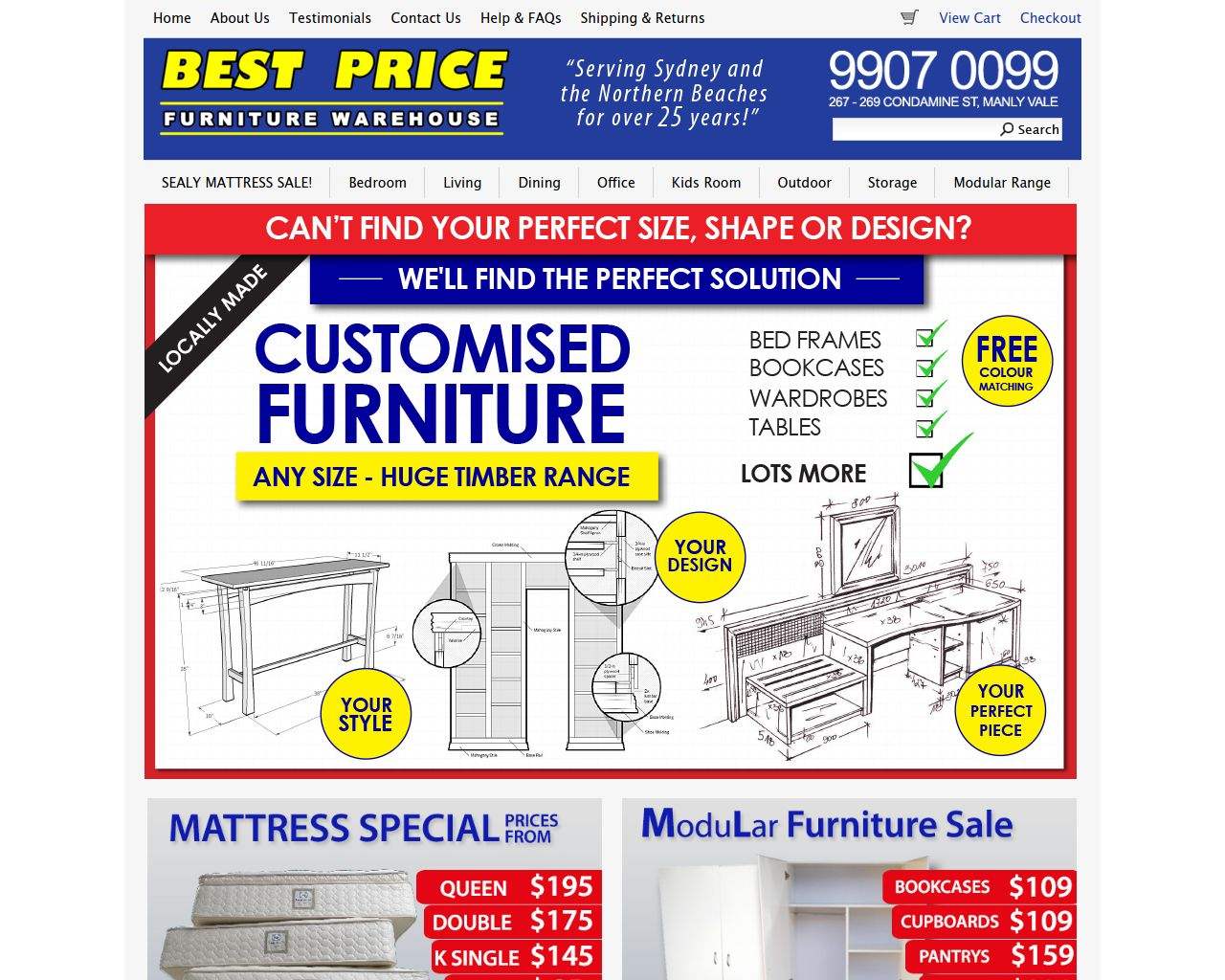 Best price furn manly vale merchant details for Best furniture for the price