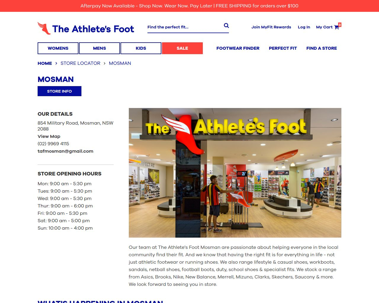 Website The Athlete S Foot