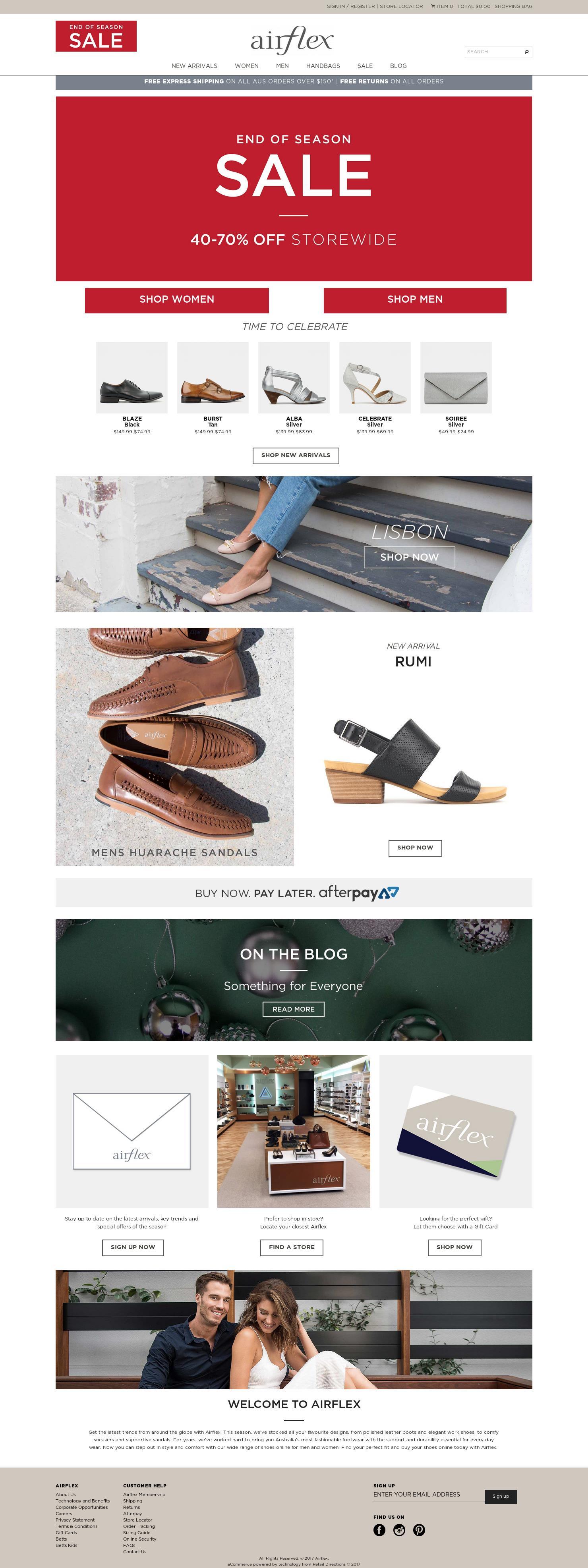 AIRFLEX JOONDALUP WA - Merchant details