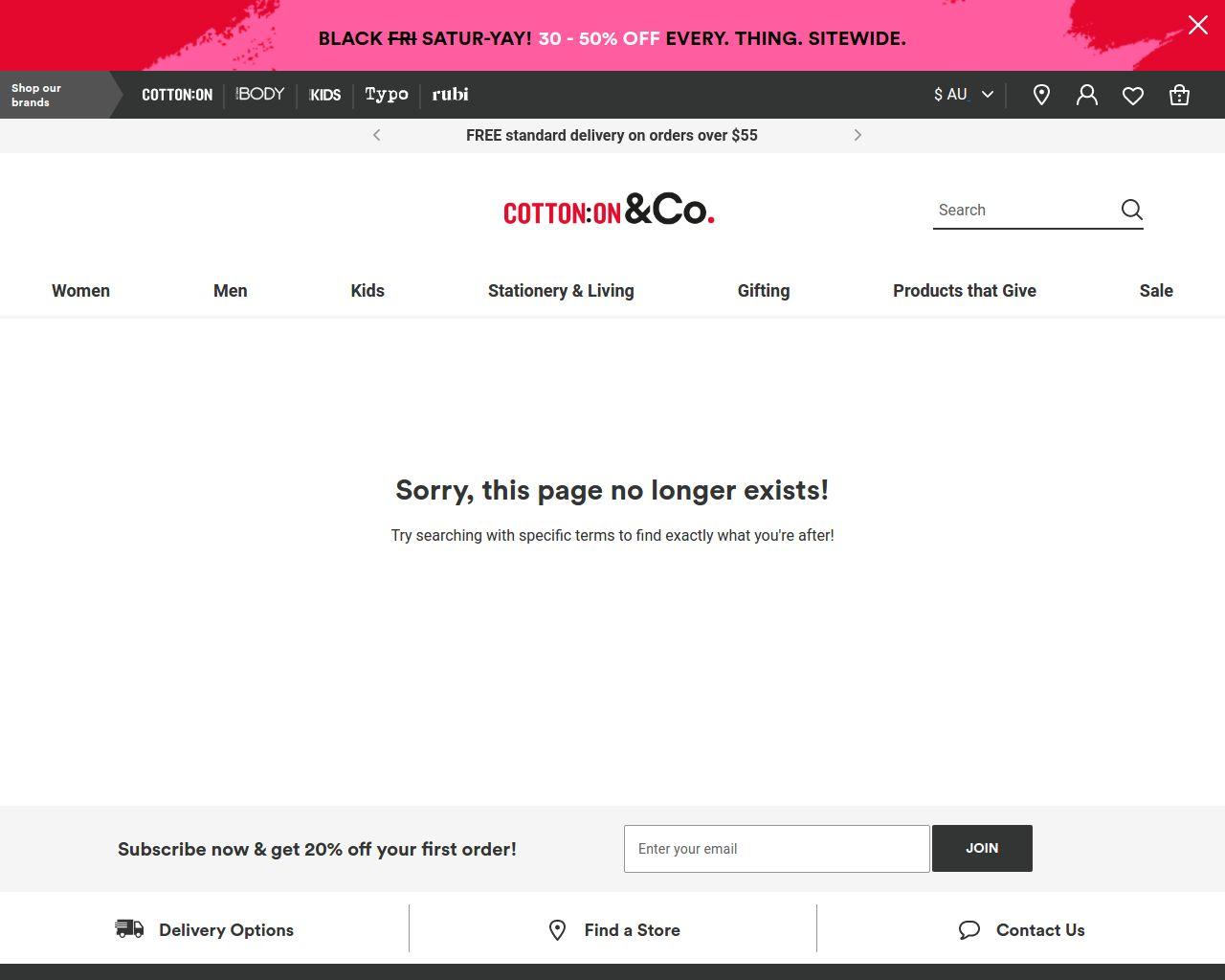 Cotton on body 2459 rouse hill nsw merchant details website cotton falaconquin