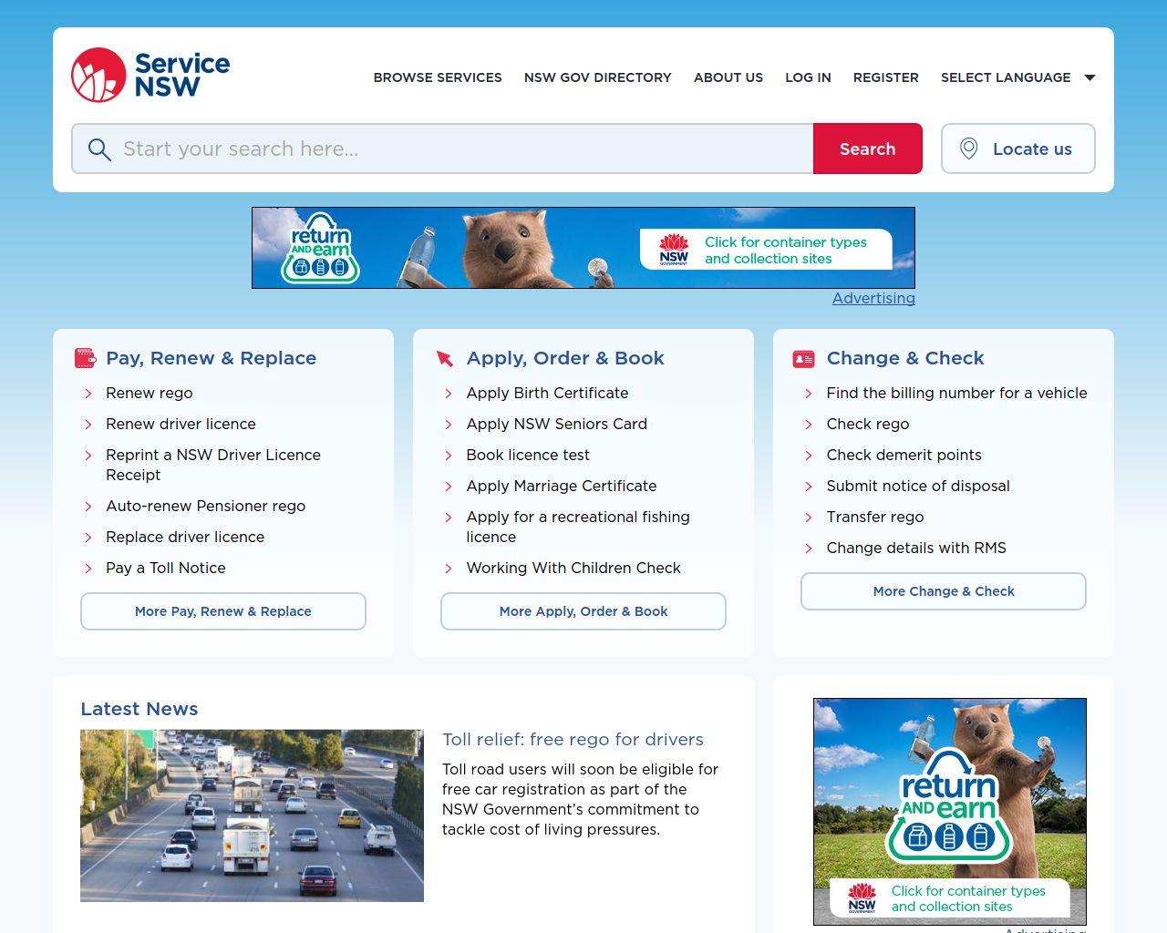 Service nsw 4018 sydney nsw merchant details website service nsw aiddatafo Choice Image