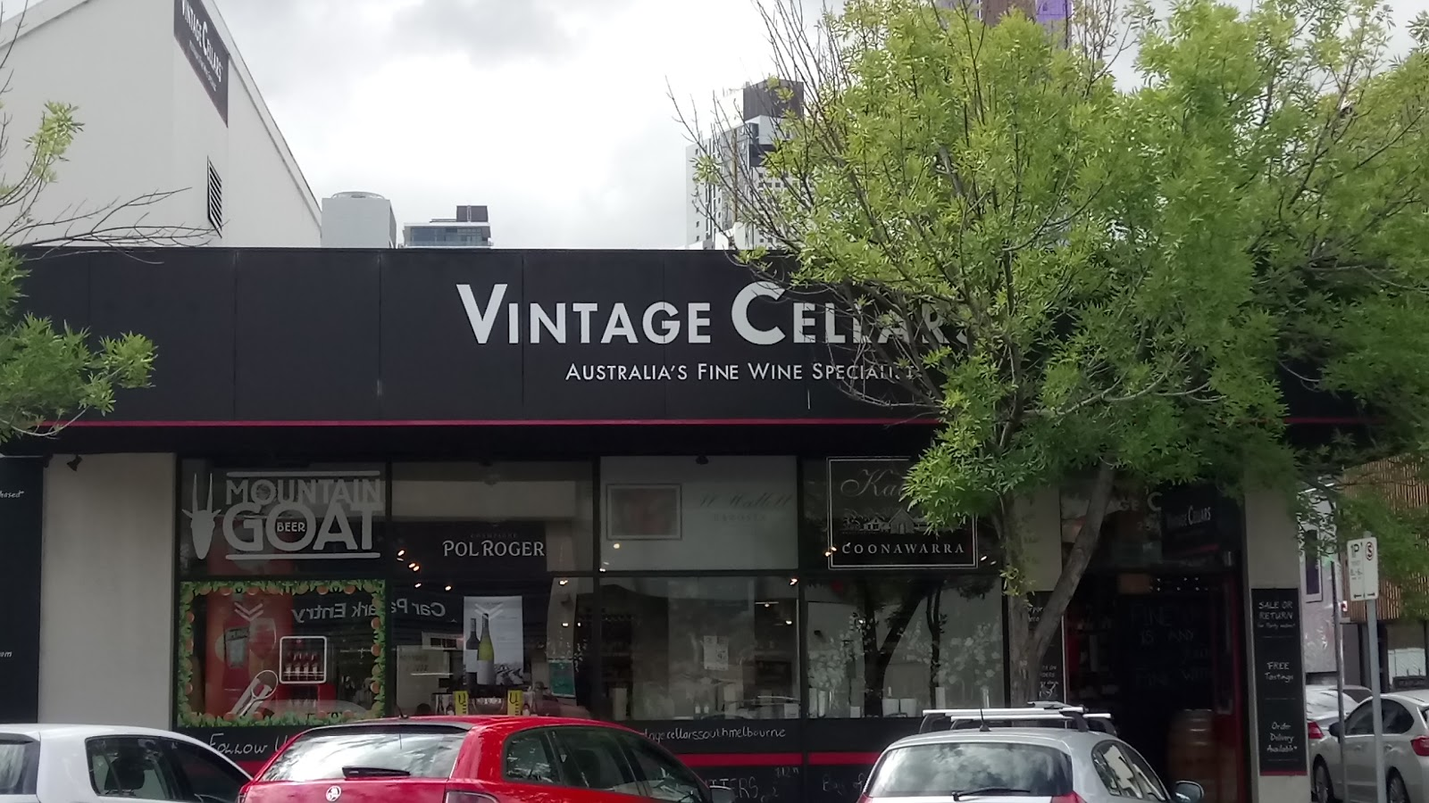 ... Vintage Cellars (South Melbourne) ... & V/CELLARS 3728 SOUTH MELBOURNE VIC - Merchant details